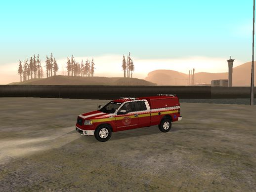 2005 Ford F150 Fire Department Utility