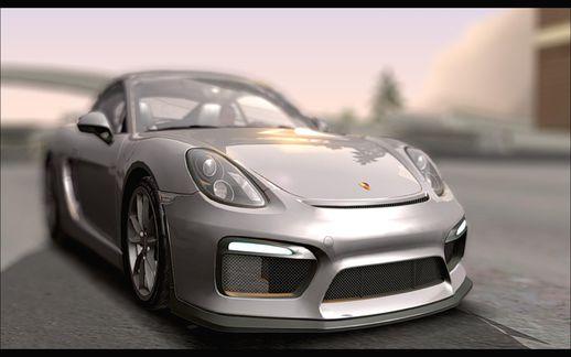 Porsche Cayman GT4 981c 2016