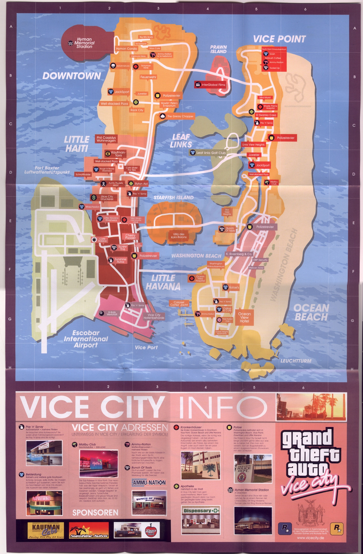 Gta 4 Karte.Level Karte Gta Vc Gtainside Com